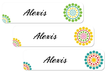 Circle Dots (fresh) Large Labels