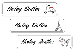 Parisian (belle) Large Labels