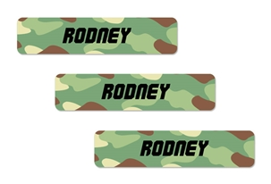 Camo (green mix) Popular Kids Labels