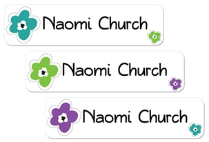 Bloomin (urban) Large Labels
