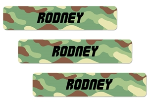 Camo (green mix) Large Labels