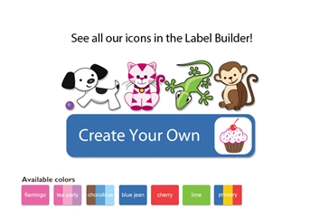 Colortime Popular Kids Labels