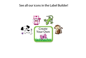 Grassy Scene Tag-a-Tag Clothing Labels