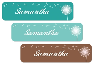 Dandelion (beach) Large Labels