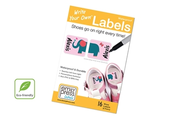 Parade Love Shoe Labels - Write Your Own