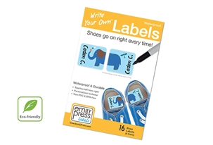 Parade Stars Shoe Labels - Write Your Own >>