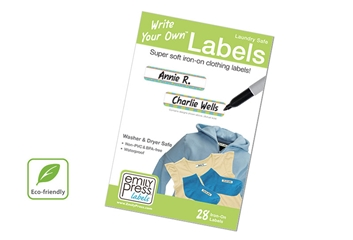 Eklin - Clothing Labels - Write Your Own Labels