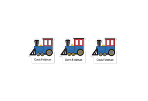 Train - Fun Shapes Labels