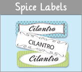 Waterproof Spice Labels