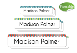 Magasin Reusable Labels Set