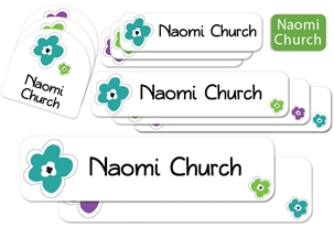 Bloomin urban - Camp Labels