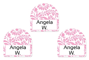 Filigree posie - Shoe Labels