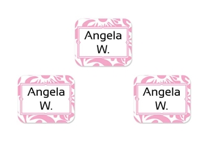 Filigree (posie) Tag-a-Tag Clothing Labels
