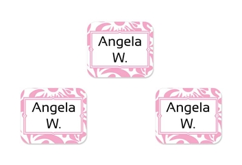 Filigree posie - Tag-a-Tag Clothing Labels