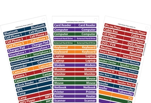 Cord Labels (multi)