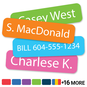 Solids - SLIM NAME LABELS