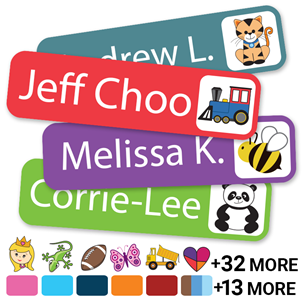 Colortime Icons - SLIM NAME LABELS