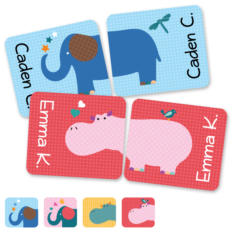 Preschool shoe labels for preschoolers