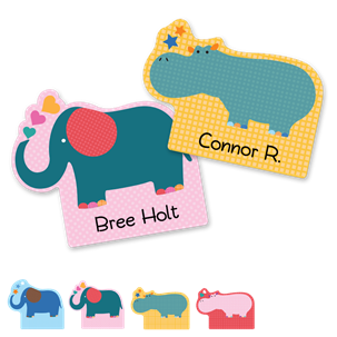 Parade designs - FUN SHAPES LABELS