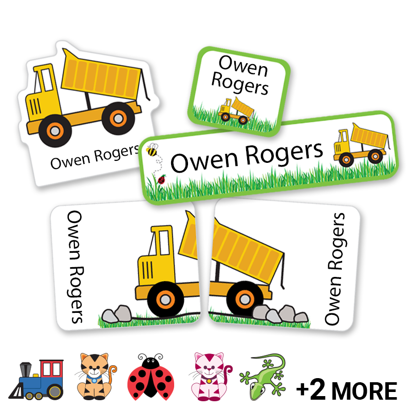 Preschool Labels for Kindergarten and Preschoolers