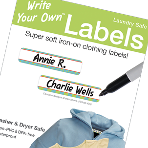 Eklin - Blank Clothing Labels - Write Your Own Labels