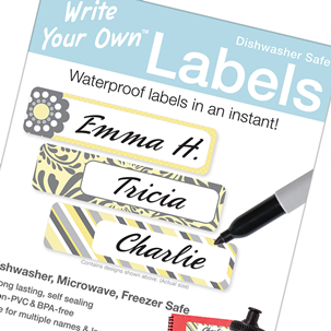 Grace - Write Your Own Blank Labels