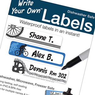 Cycling - Write Your Own Blank Labels