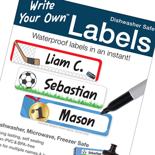 Sports #1- Write Your Own Labels