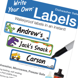 Outside Play - Write Your Own Labels