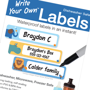 Parade Stars - Write Your Own Labels