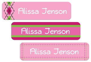 Tailored (pinks) Large Labels