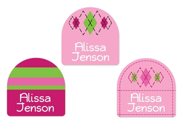 Tailored (pinks) Shoe Labels