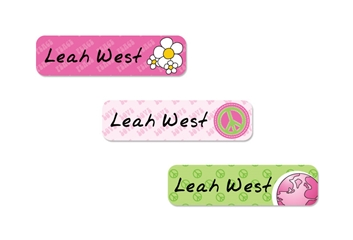 Peace (pinks) Slim Labels