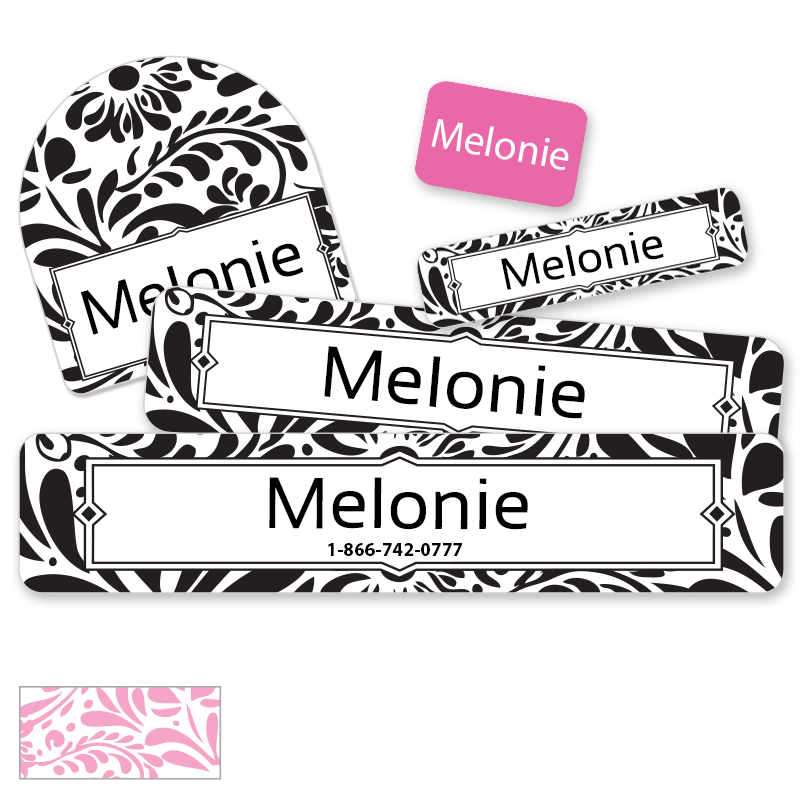 Filigree Camp labels