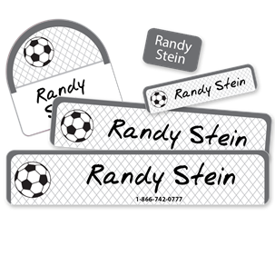 Soccer Net - Camp Labels