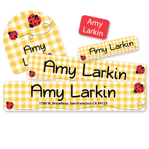 Ladybugs - Camp Labels