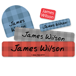 Lumberjack - Camp Labels