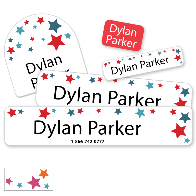 Stars Camp Labels