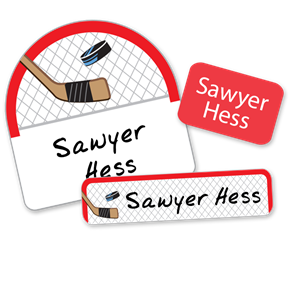 Hockey Net - DAY CAMP LABELS