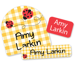 Ladybugs - DAY CAMP LABELS