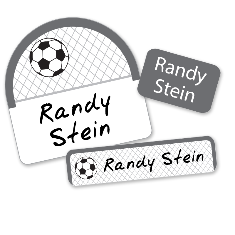 Soccer Net Camp labels