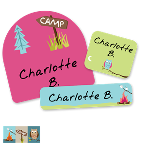 Camptime - FIRST CLASS SCHOOL LABELS
