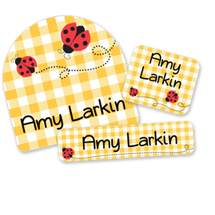 Ladybugs - FIRST CLASS SCHOOL LABELS