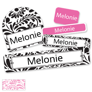 Filigree - DELUXE SCHOOL LABELS