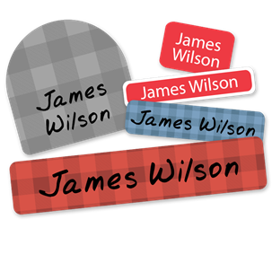 Lumberjack - DELUXE SCHOOL LABELS
