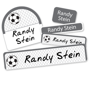 Soccer Net - DELUXE SCHOOL LABELS