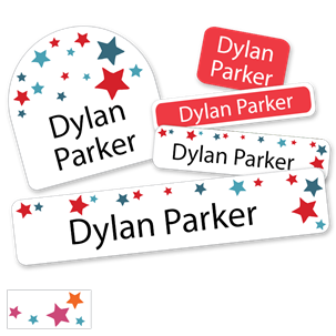 Stars - DELUXE SCHOOL LABELS