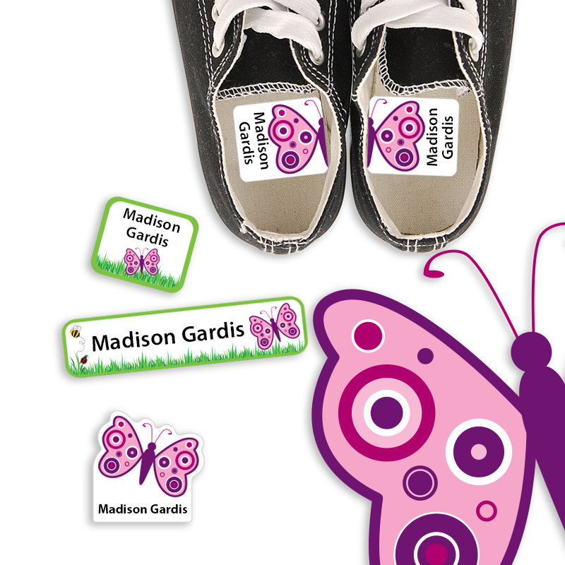 Preschool Labels for Shoes and lunch gear