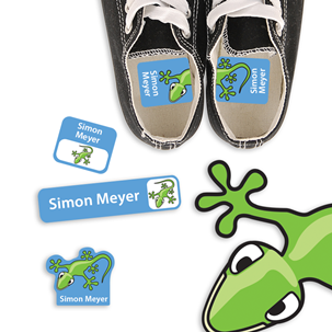 Scurry Gecko - PRESCHOOL KIDS LABELS