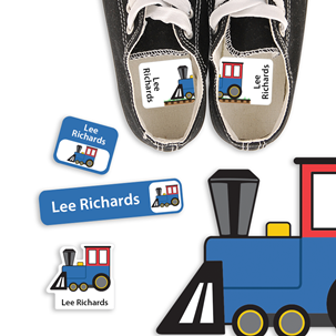 Train - PRESCHOOL KIDS LABELS